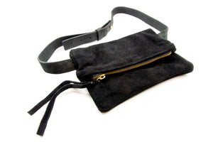 Suede Fanny Pack