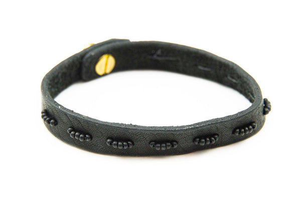 Simple Bead Bracelet Black