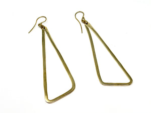 Upepo Earrings - Goldtone