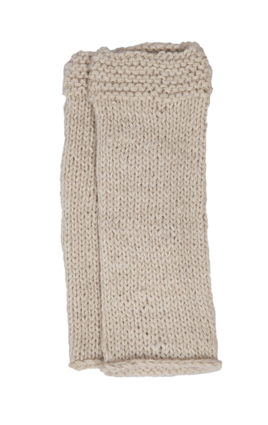 Fingerless Gloves - Oatmeal