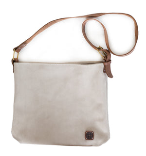 Suede Relaxed Hobo ~ Blush