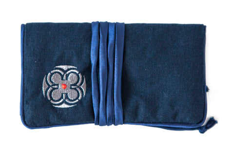 Jewelry Roll ~ Navy