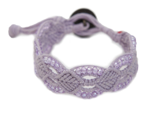 Kristeal ~ Lavender w/ Lavender Beads