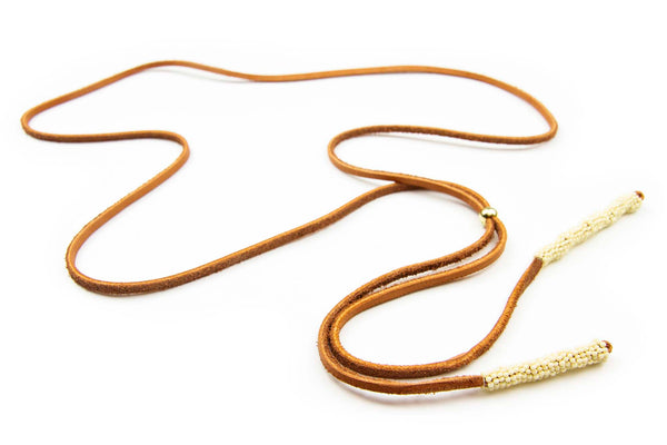 Leather Lasso Necklace