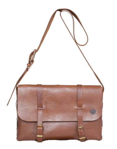 Large Satchel Bag ~ Brown