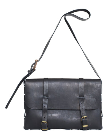 Large Satchel Bag ~ Black