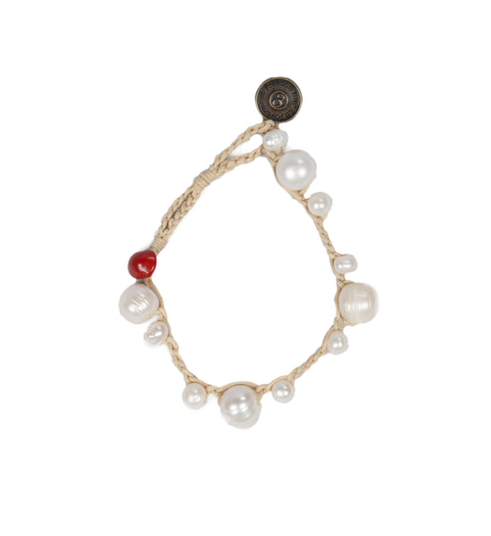 Mony - Natural Pearl Beads Bracelet