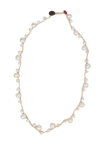 Mony - Natural Pearl Beads Necklace