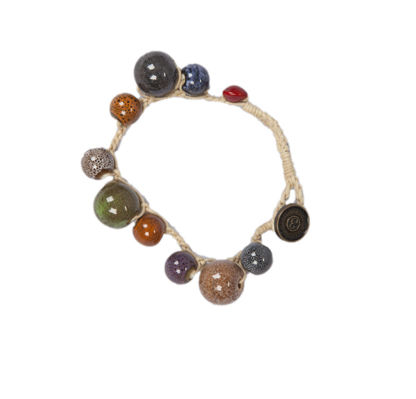 Mony - Multi Colored Ceramic Beads Bracelet