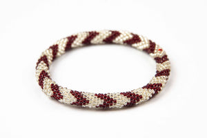 Nepal Mission - Burgundy & Silver Chevron