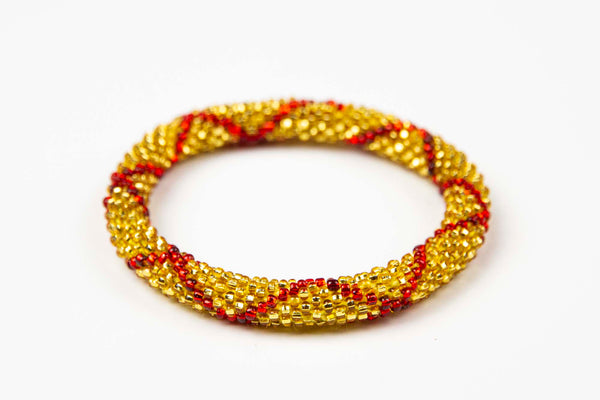 Nepal Mission - Red & Gold