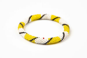 Nepal Mission - Yellow & White w/black stripe