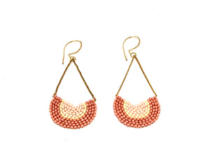 Niche Earrings - Pink