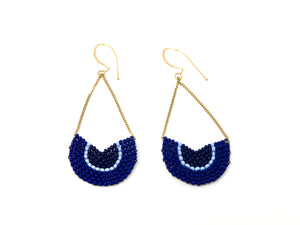 Niche Earrings - Indigo
