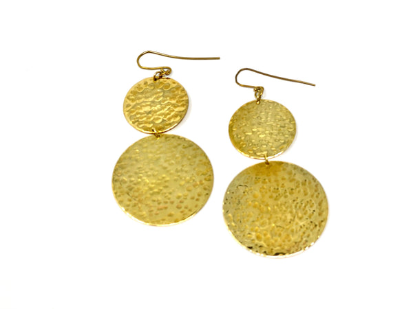 Doadoa Earrings - Goldtone
