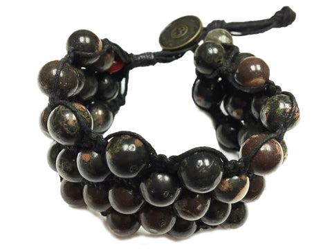 Phaem ~ Black w/ Onyx Natural Stone