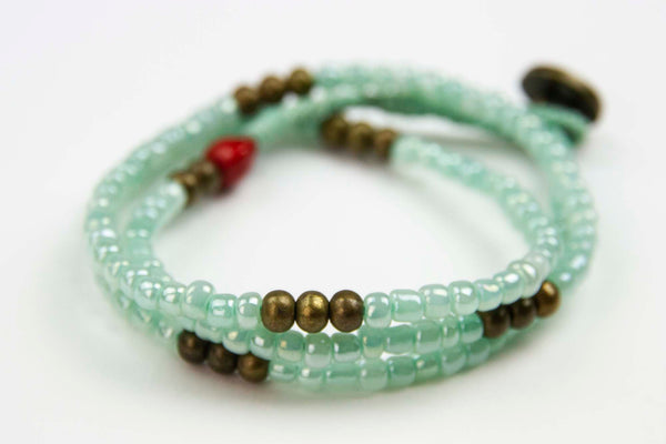 Phlov - Light Green Wrap bracelet