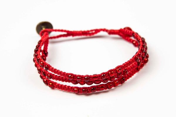 Phlu ~ Red w/ Red Beads