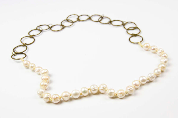 Riep Necklace - Pearl