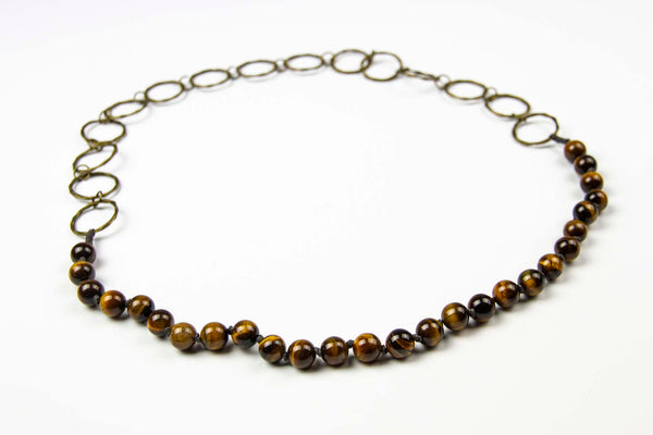 Riep Necklace - Brown