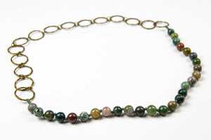 Riep Necklace - Olive