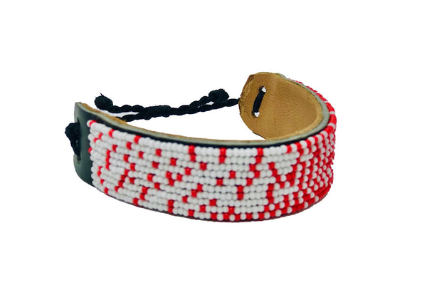 Shanga - Red & White Dots