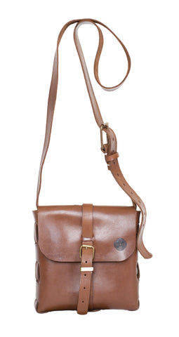 Small Satchel Bag ~ Brown