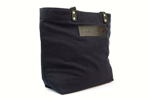 The Freedom Tote ~ Black w/Black Leather