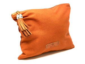 Tassel Travel Bag - Rust