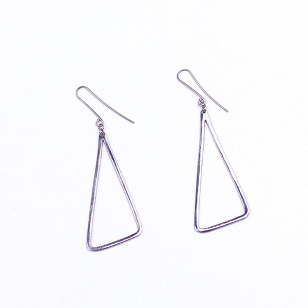 Upepo Earrings - Silvertone