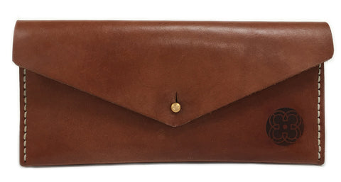 The Wallet ~ Brown Leather