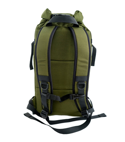 BIGxTOP Gearsack in Olive Rear View
