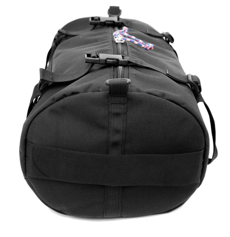 Duffel top view