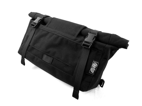 BIGxTOP Mini Messenger Front View in Black