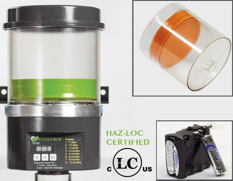 Ecoluber® Lubrication Systems (Hazloc Certified)