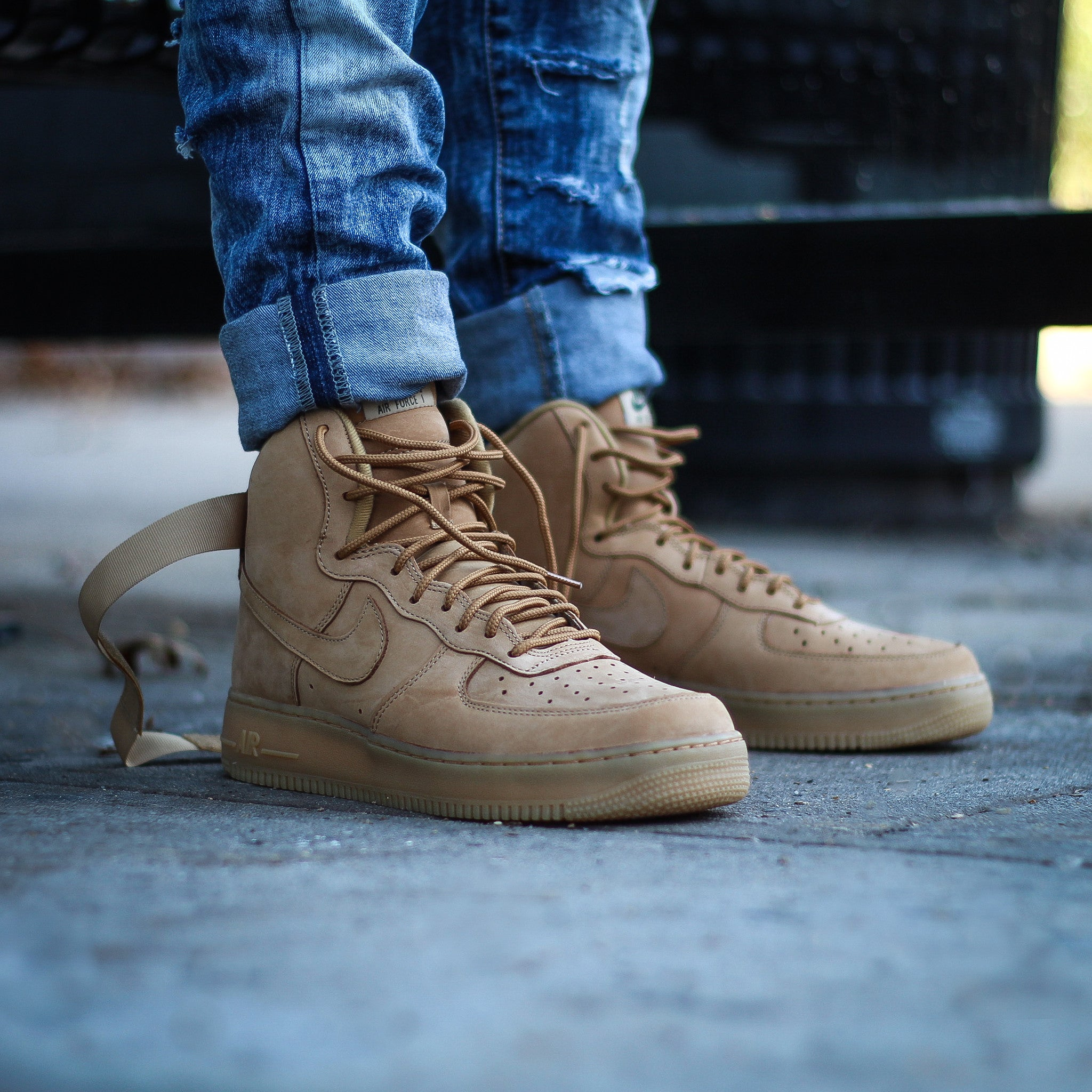 the best attitude 74e4f b3603 nike air force 1 lv8 flax