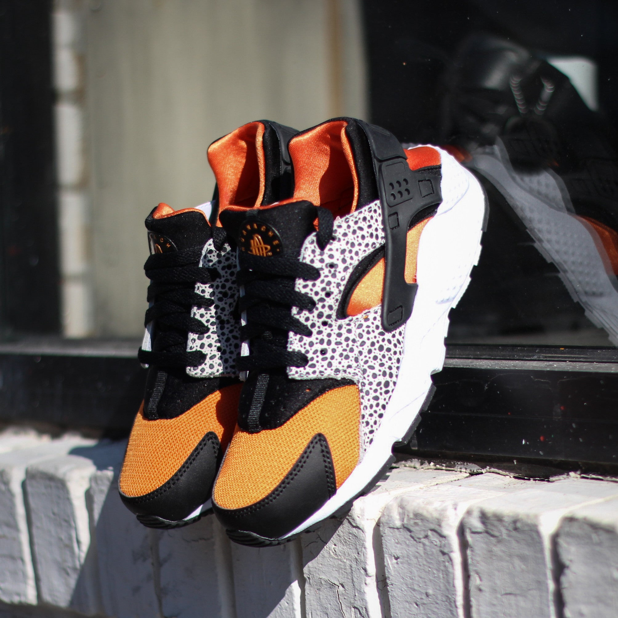 NIKE Huaraches Run Safari (GS)