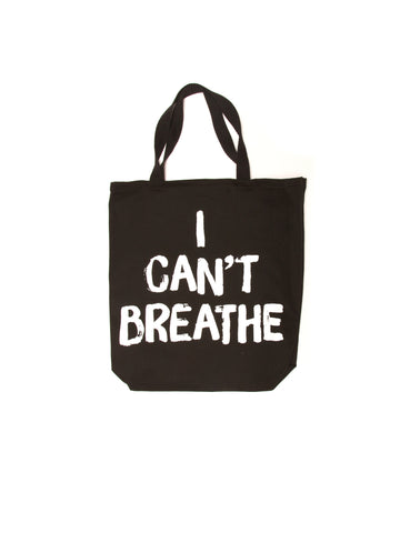 I CAN'T BREATHE TOTE BAG