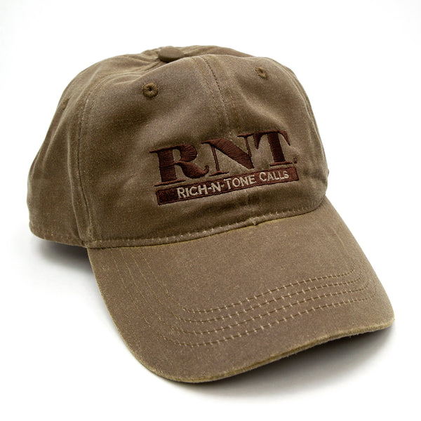 Weathered Tan Waxed Hat - NEW