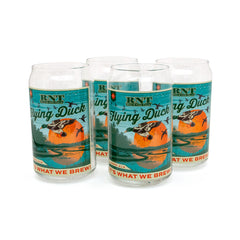 The Flying Duck 4 Pack Drinking Glass