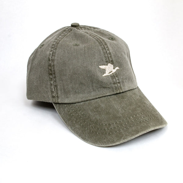 Flying Duck Co. Olive Dad Hat - NEW