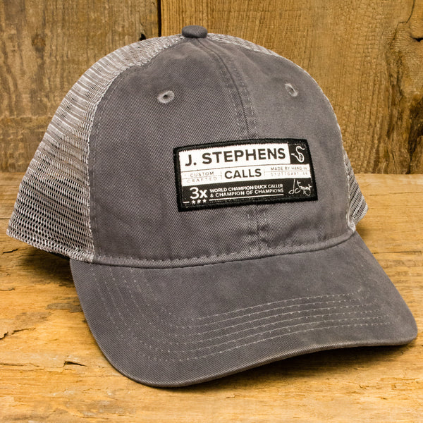 J Stephens 3X Label Hat