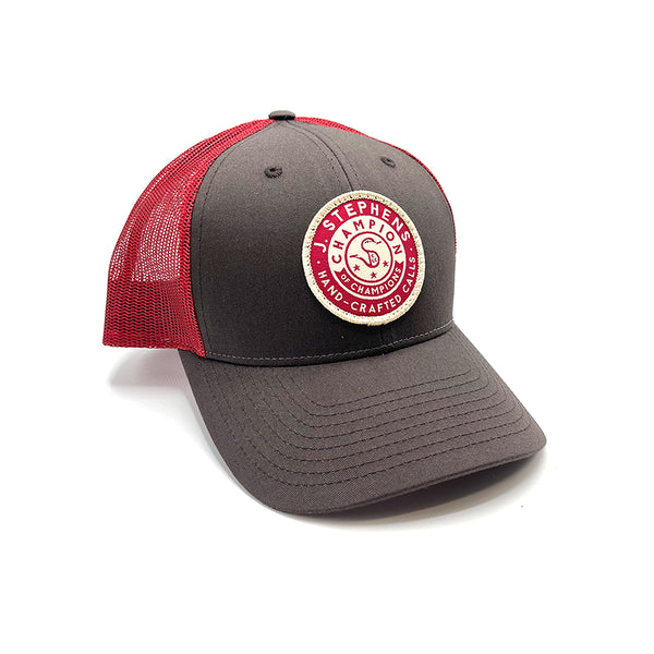 J. Stephens Circle Patch Coffee Hat - NEW