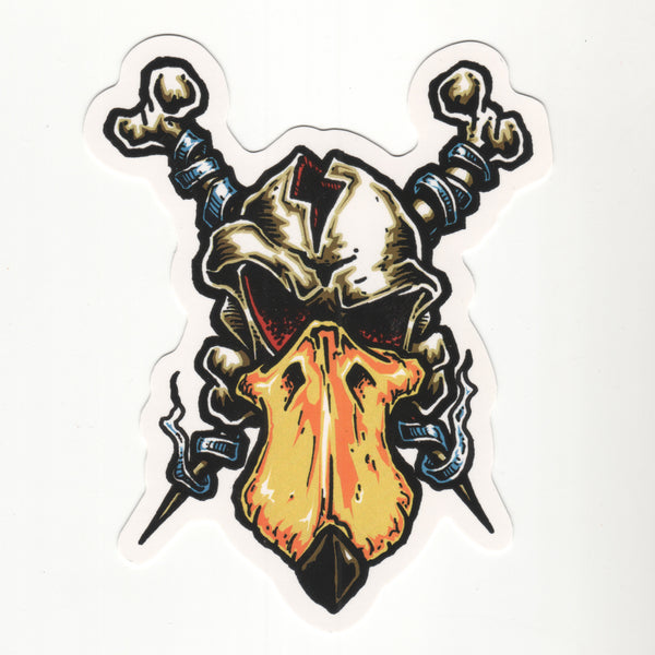 QH Skull Decal
