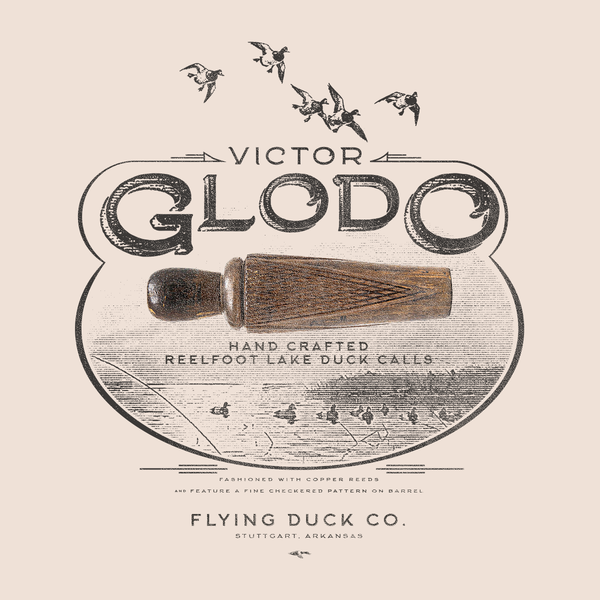 Flying Duck Co. Ivory Glodo T-Shirt - NEW