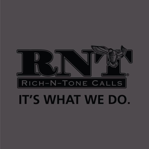 RNT Charcoal Logo T-Shirt - NEW