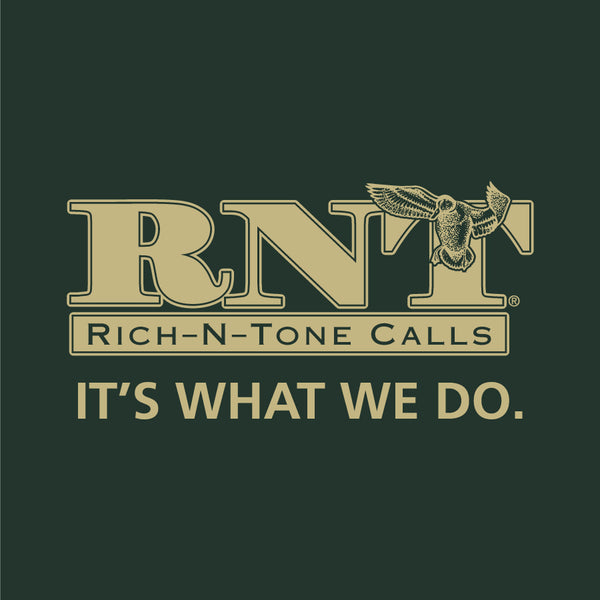 RNT Dark Green Logo T-Shirt - NEW