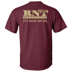 RNT Maroon Logo T-Shirt - NEW