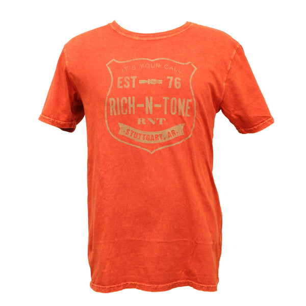 RNT Orange Mineral T-Shirt (Fire)