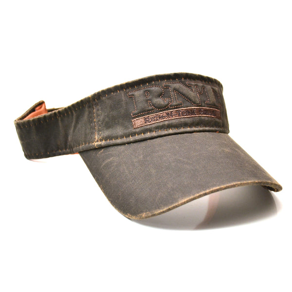 RNT Brown Wax Visor 0968894d5823